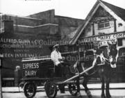 Express Dairy & Ritz Cinema, Muswell Hill, 1951