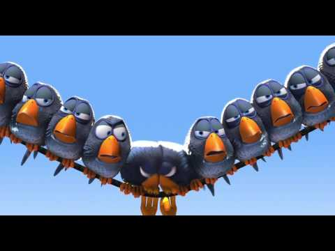 For The Birds (1080p) (Pixar Short Films)