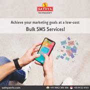 Bulk SMS Service Provider in India - Sathya Technosoft