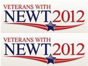 Veterans With Newt 2012