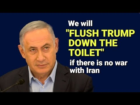 """FALSE FLAG UPDATE: Trump to be """"FLUSHED DOWN TOILET"""" if no Iran war"""