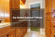 Buy Modern Bathroom Cabinets from sunshinekitchenbath.com