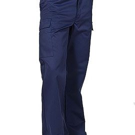 Navy Blue Cargo Cut Trousers for Doctors