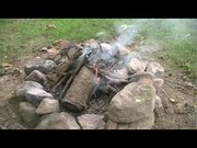 How to grill catfish over the fire