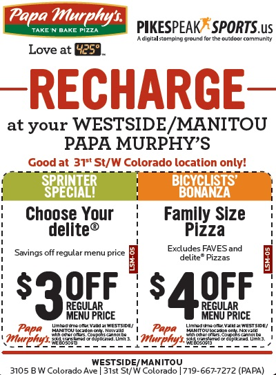 graphic regarding Papa Murphys Coupons Printable named Papa Murphys Get N Bake Pizza - $4 off any Household Measurement