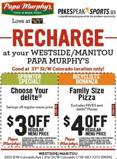 graphic regarding Papa Murphys Coupons Printable named Papa Murphys Get N Bake Pizza - $4 off any Household Measurement