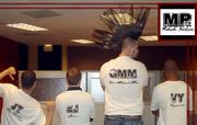 Mohawks Rock T-Shirt Backs
