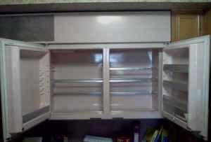 Pink Mid Century Modern Horizontal Refridgerator I Antique Online