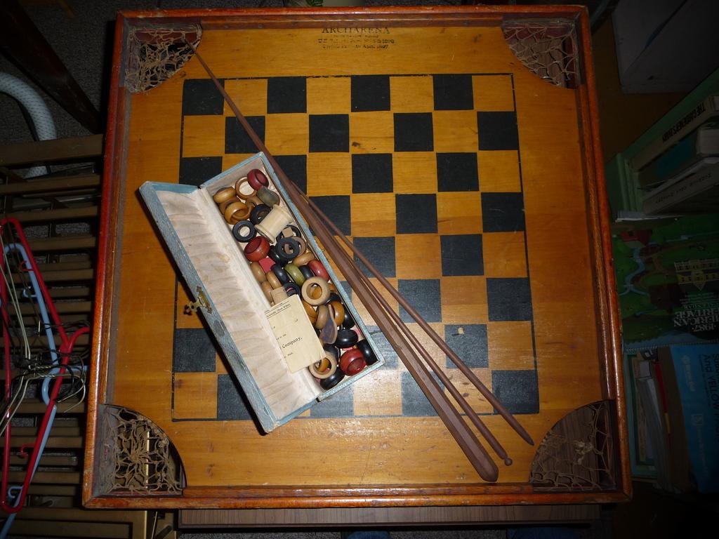 Checker Board I Antique Online