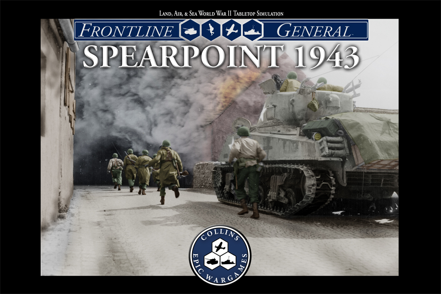Spearpoint 1943 Box Art by Mark Mahaffey