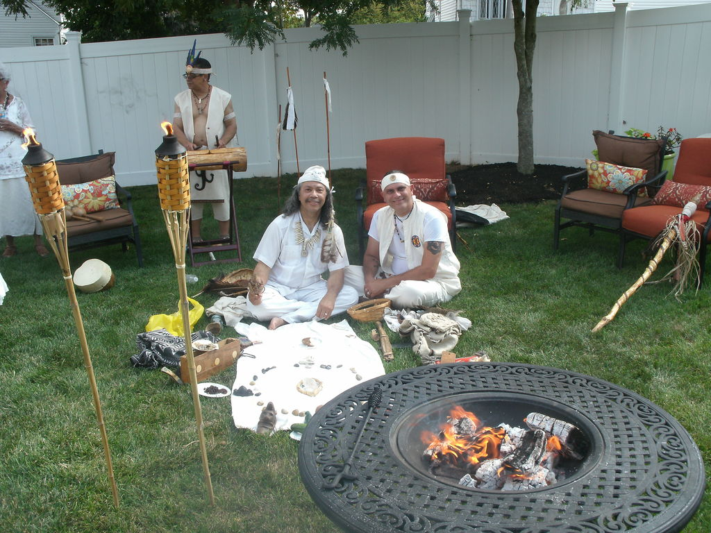 Full Moon ceremony Union New Jersey Aug 2015