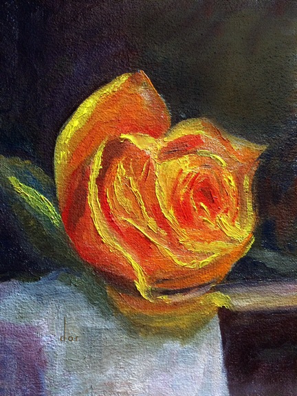 8x10 rose study dor