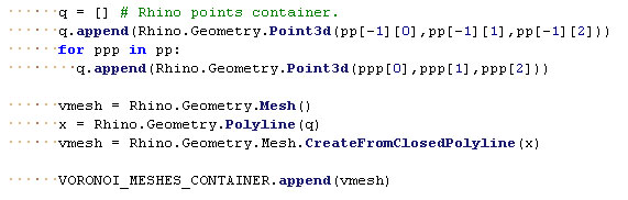 Point Sorted Rhinocommon Version of Rhino Polyline Through