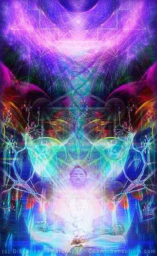 The Unified Chakra Meditation - LIGHTGRID - Lichtnetz - REDDELUZ