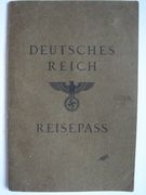 2012-05-20 德國護照 Germany passport 1933-1945