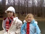 Caitlin & Madeleine =  my rad daughters.