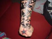 My new Halloween Tattoo coverup 4