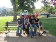 Alex, Emily, Steve, Justin and me