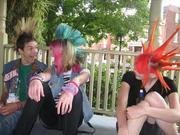 Alex, Emily, and me