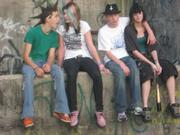 Alex, Emily, Justin and me