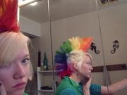 rainbow hair! 016