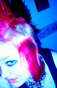 its really red,but the camers made it pink