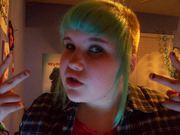 i look like a skin head