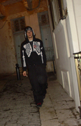 ..skeleton-guy walking down the street