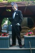 Mohawk/tux combo for prom