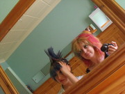 big hair!