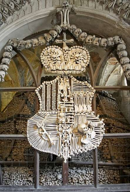 bone church in czech republic