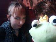 Kiss the frog...doo itt!