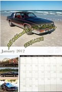 2012 Oldsmobile Car Calender