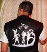 Leather Vest Paint Job