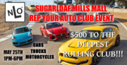 Rep your Auto Club at Sugarloaf Mills Mall in Lawrenceville, GA