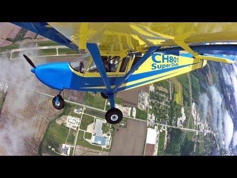 STOL CH 801 SD - flight testing