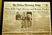 Police Kill Bonnie & Clyde May 23, 1934