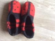 Haus Schuhe gefilzt