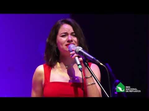 Nana Mendoza en nuestro primer concierto con causa