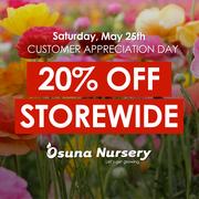 Customer Appreciation Day at Osuna Nursery