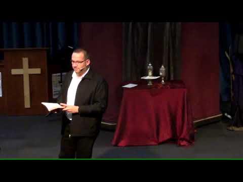 02 Skriflesing, Preek en Nagmaalbediening tydens Ontmoeting by PVR Gemeenskapskerk op 2019-05-19