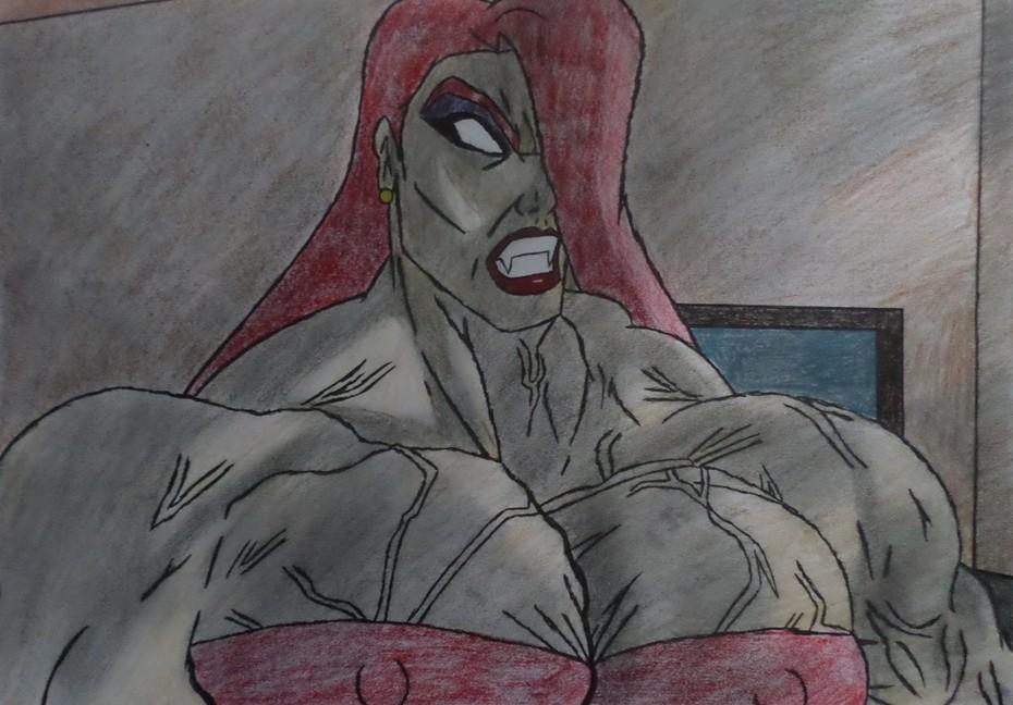 Jessica Rabbit: Bio Muscle She Hulk