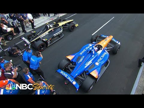 Marcus Ericsson wins IndyCar Pit Stop Challenge | Motorsports on NBC