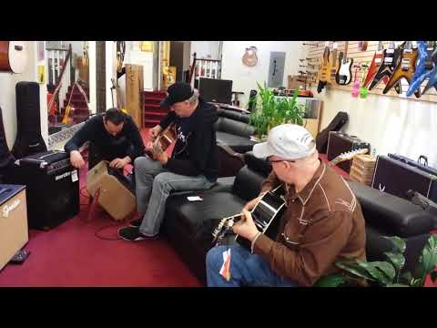 "James Manning ""Music store Jam"""