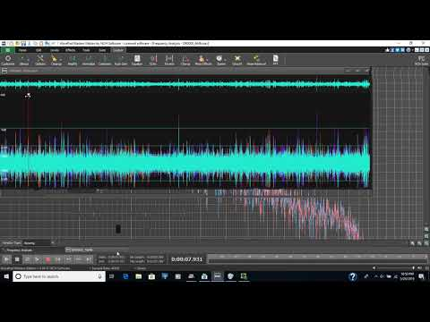 I used a few WavePad tools to enhance this audio so you can hear spirits talking