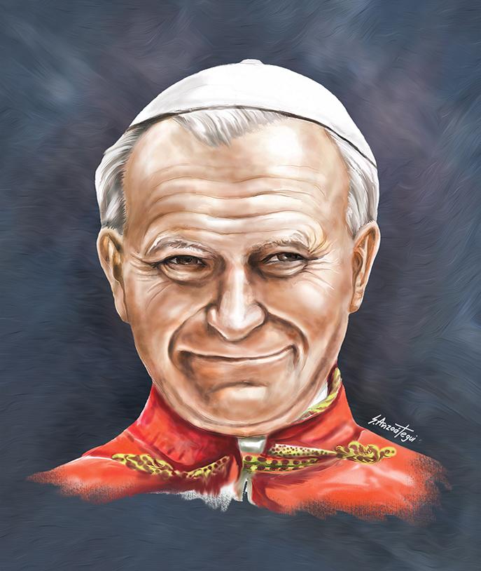 Pope JP II