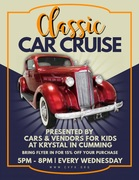 Classic Car Cruise -Cumming, GA