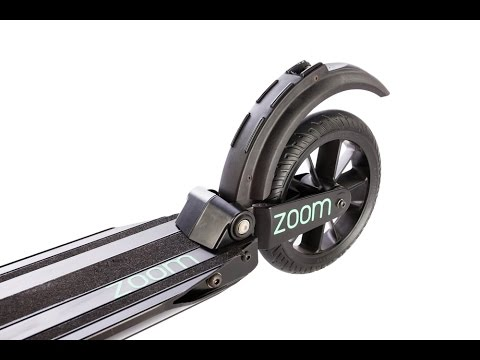 ZoomAir 2: World's Lightest Electric Scooter (HD)