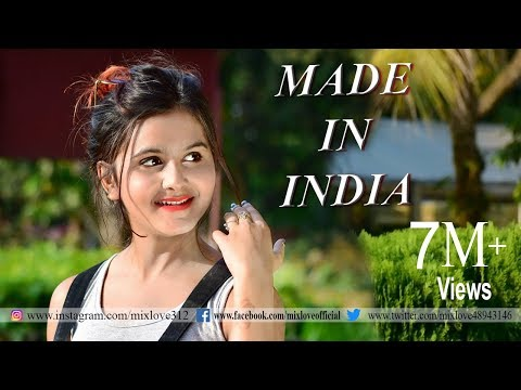 Made In India || Guru Randhawa || Pallabi Kar || Cute Love Story || New Hindi Songs || By Mix Love