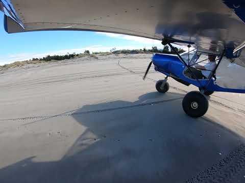 Quick beach landing